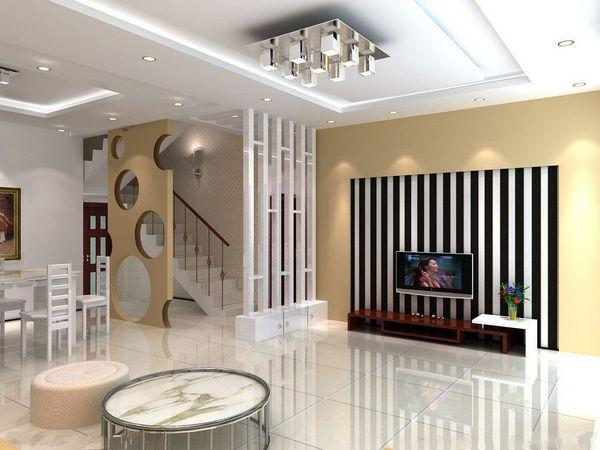 十堰现代客厅隔断装饰装修效果图